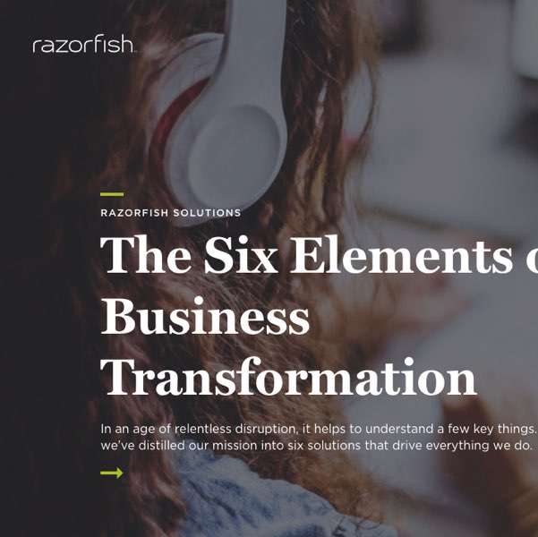 cover of SapientRazorfish company page