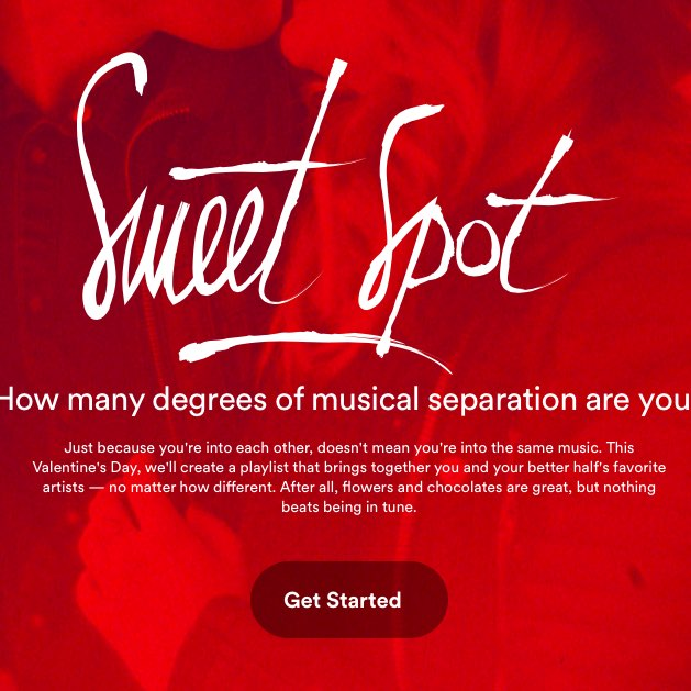 cover of Spotify Sweet Spot